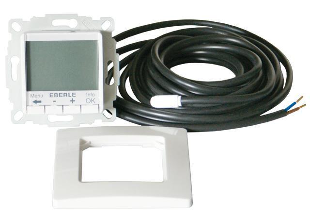 Терморегулятор программируемый Eberle FIT 3F для теплого пола, купить в Украине, цена 3704 грн